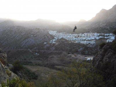 Ferrata de Montejaque en Málaga con fotos