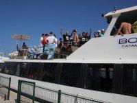 Navegar en barco en Valencia
