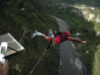 Un salto de mucha adrenalina
