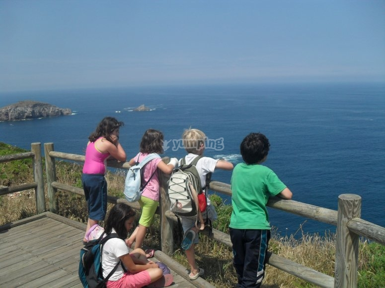 Views of the coast