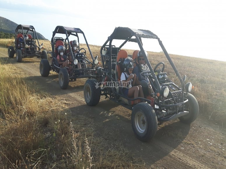 Buggy for two people