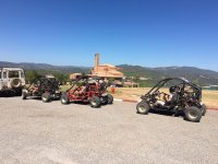 Two-Seater Buggy Trail Huesca, 90 mins
