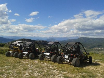Single buggy ride around Huesca 3 h