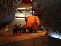 instalaciones del rocodromo el muro