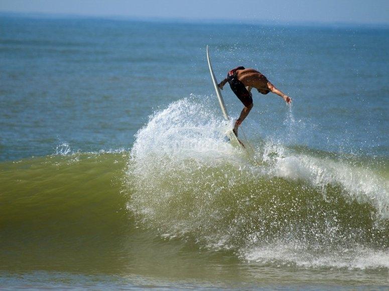 Clase de surf de una hora