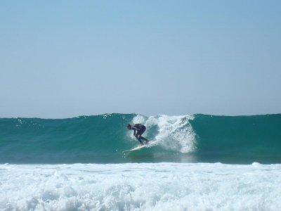 在韦尔瓦冲浪课程1小时