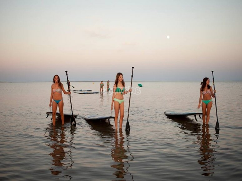 Ruta Paddle Surf Isla Canela