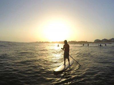 划桨冲浪路线里约卡雷拉斯在Isla Cristina 2h