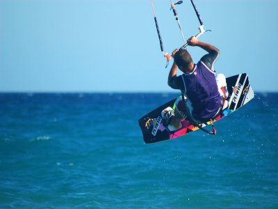 Curso de kitesurf en Huelva de 1 hora
