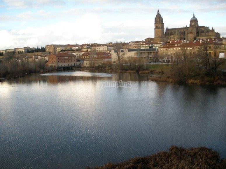 Rio Tormes en Salamanca
