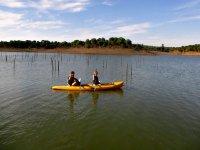 Paseo con canoas
