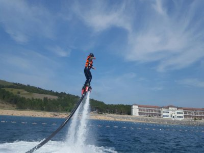 Flyboard session in Gorliz special single party