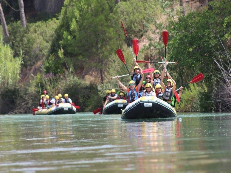 Rafting en Cenajo