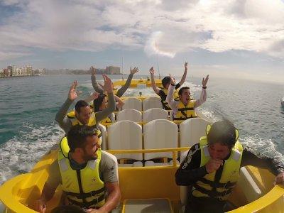 Jet boat per addii al celibato ad Alicante
