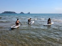 Rent an equipment of paddle surf