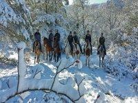 Rutas a caballo en invierno y verano
