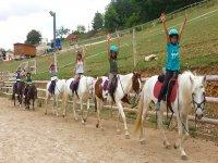 Clases de equitacion para todos los niveles