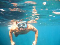 在拉曼加浮潜