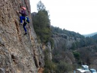 Sports climbing course for beginners in Tarragona
