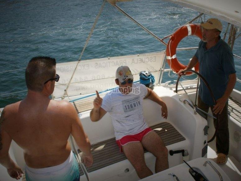 Navigation dans le Mar Menor