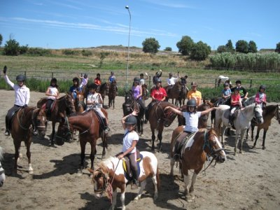 Clase de equitación 1h en Les Masies De Roda