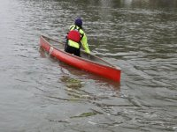 Individual canoe
