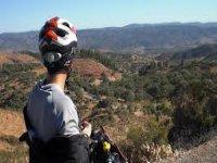 landscape mountain bike