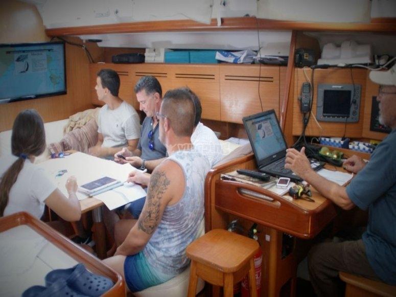 Théorie dans le bateau Kiris