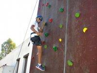各个年龄段的攀岩