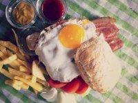 La comida del restaurante