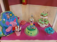 Pepa Pig birthday table in Mallorca