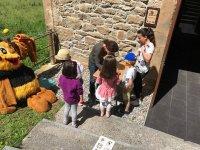 Attività dei bambini nel museo