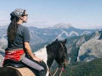 Guardando le valli dal cavallo