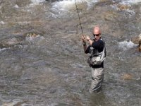 River fishing in Asturias