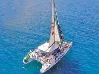 Ruta en Catamaran a Papagayo