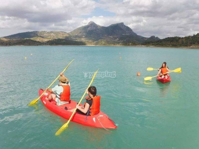Dia de actividades acuaticas