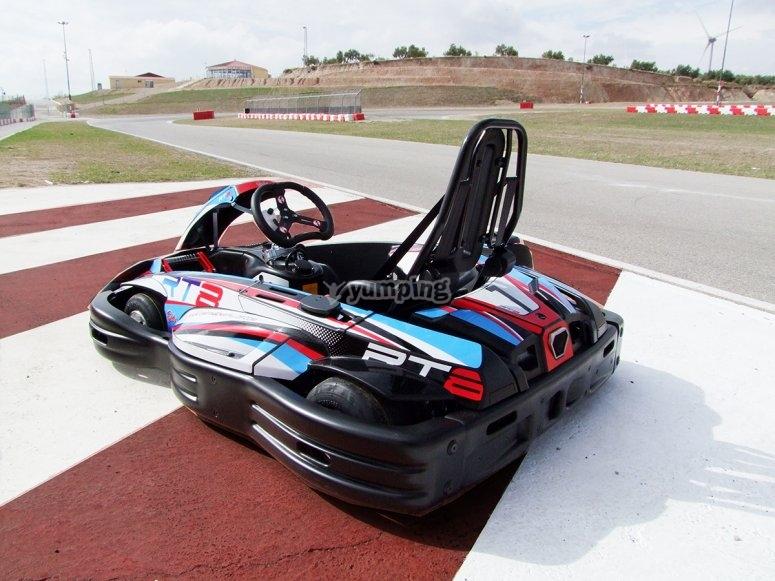 Kart en el circuito