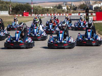 Karting para teambuilding en Campillos 40 minutos