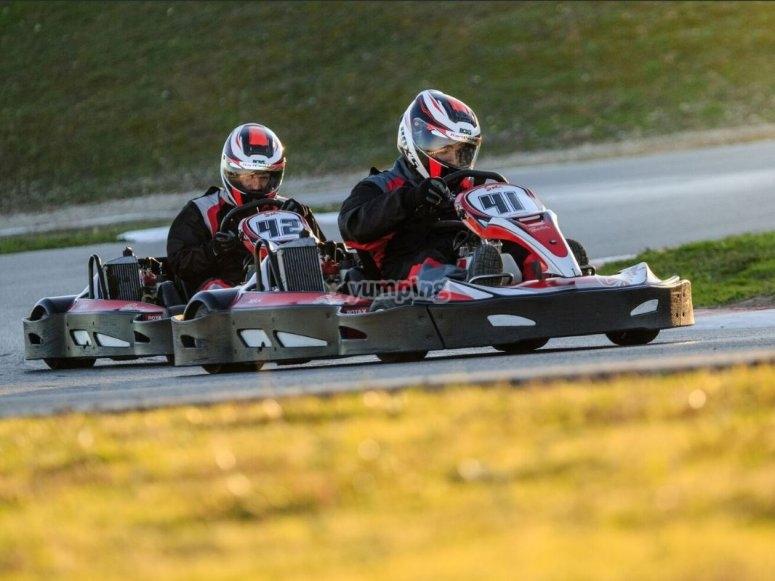Pilotos en competicion