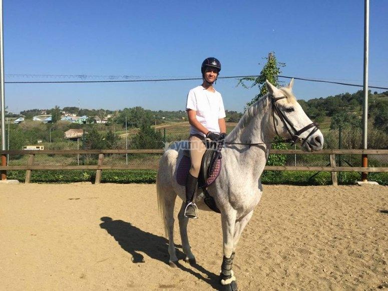 Cavaliere a cavallo
