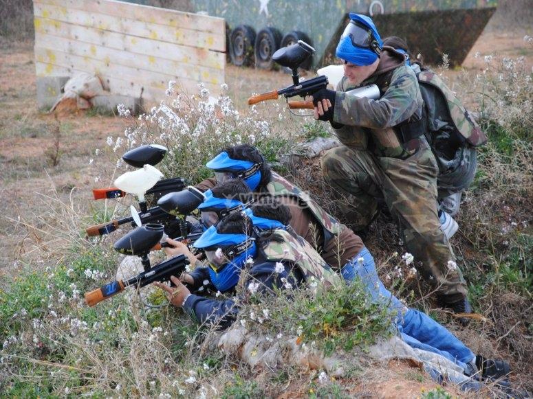 Team shooting