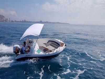 Alquilar barco en Alicante para despedidas 8 horas