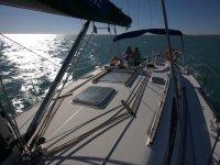Alquiler de barco en Santa Pola media jornada