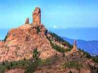 Roque Nublo por la mañana
