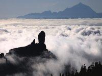 Nubles en Roque Nublo
