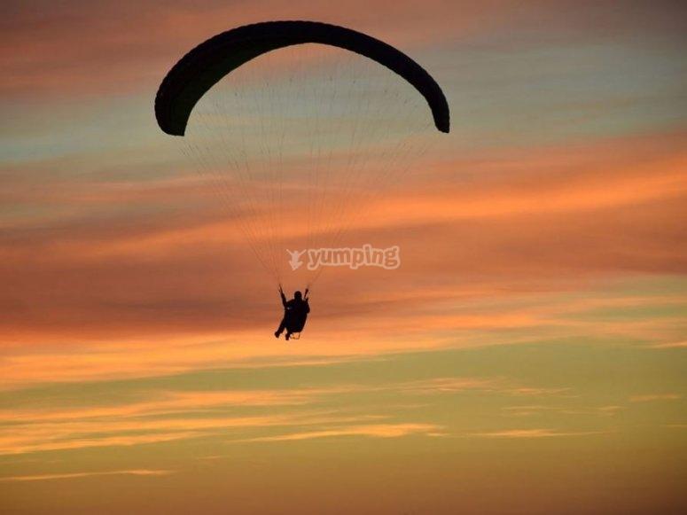 Viste del tramonto a Segovia