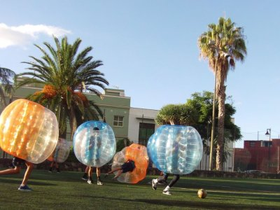 Bubble soccer rental in Tenerife