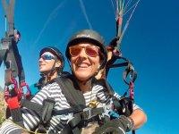 Volare in parapendio ad Avila