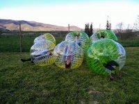 Bubble soccer en Jaca