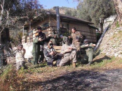 Gomingball和冒险与Lanjarón的农村房子